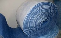 Blue Polyester Service Roll